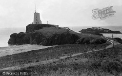 The Lighthouse c.1950, Newborough