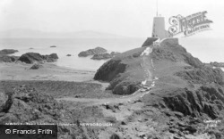 The Lighthouse, Llanddwyn c.1950, Newborough