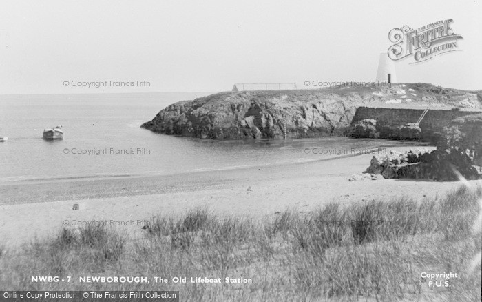 Photo of Newborough, The Old Lifeboat Station c.1950