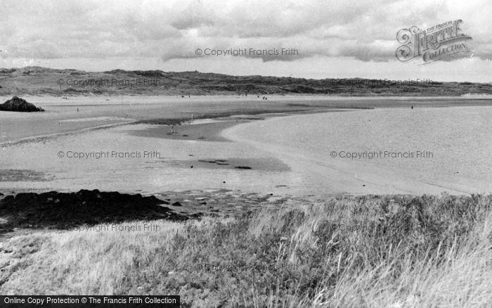 Photo of Newborough, The Sands, Llanddwyn Island c.1960