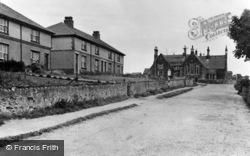 Newborough, The School, Pendre Street c.1955