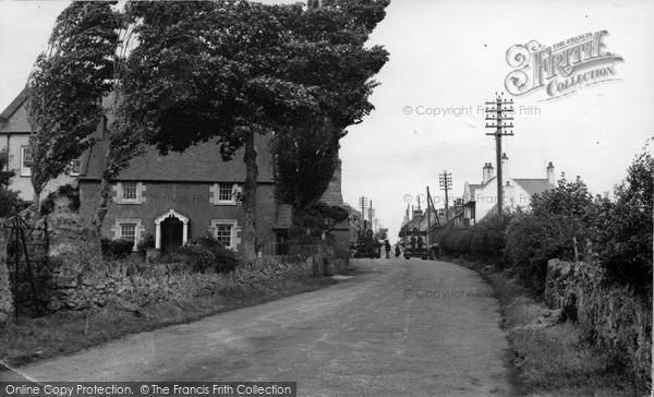 Photo of Newborough, Village c.1955