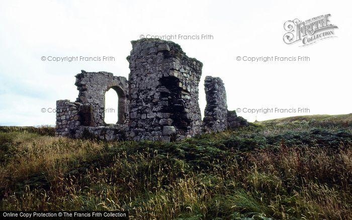 Photo of Newborough, Ynys Llanddwyn, Abbey Ruins c.1995
