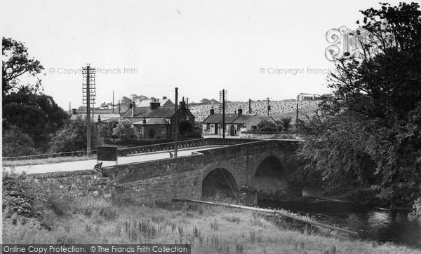 Newbridge, looking south c1955