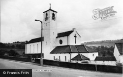 Newbridge, Parish Church c.1965