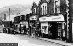 Newbridge, Shops Along High Street c.1965