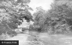 Newbridge, The Canal c.1960