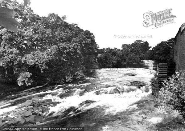 Newbridge, the Caul, Cluden Mill c1955