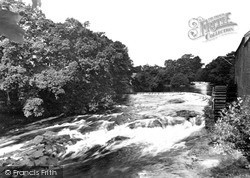 Newbridge, The Caul, Cluden Mill c.1955