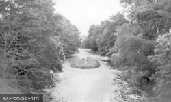Newbridge, The Island In The River Cairn c.1955