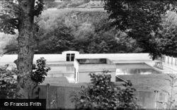 Newbridge, The Swimming Pool c.1960