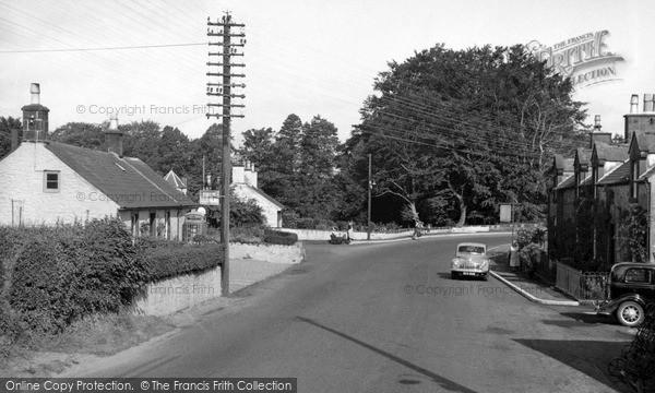 Newbridge, the Village c1955