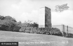 Newbridge, The War Memorial c.1955
