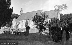 Newbrough, St Peter's Church c.1955