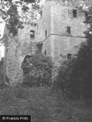 Balmbreich Castle, Angle Of Stair And Chapel 1953, Newburgh