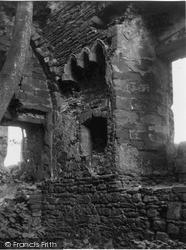 Balmbreich Castle, Sedila In Chapel 1953, Newburgh