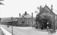 Newburn, Methodist Church and Council Offices c1955