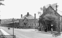 Newburn, Methodist Church And Council Offices c.1955