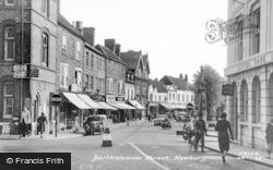 Newbury, Bartholomew Street c.1955
