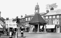 Newbury, Clock Tower c.1955