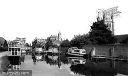 Newbury, Kennet And Avon Canal c.1965