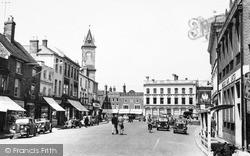 Newbury, Market Place 1952