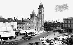 Newbury, Market Place c.1960