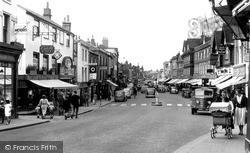 Newbury, Northbrook Street 1954