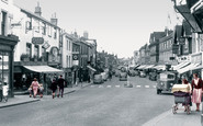 Newbury, Northbrook Street 1954