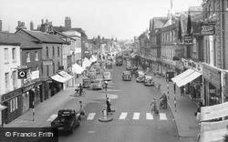 Newbury, Northbrook Street c.1955