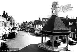 Newbury, Northbrook Street c.1965
