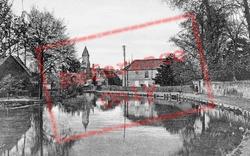 Newbury, River Kennet c.1900