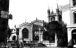 Newbury, St Nicolas' Church 1956
