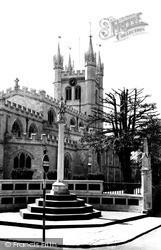Newbury, St Nicolas' Church c.1955