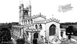 Newbury, St Nicolas' Church c.1960