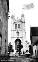 Newbury, St Nicolas' Church From West Mills c.1950