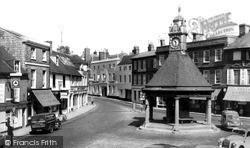 Newbury, The Broadway c.1960