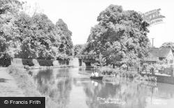 Newbury, The Canal c.1955