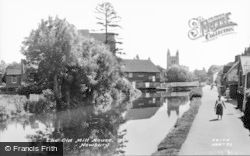 Newbury, The Old Mill House c.1960
