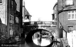 Newbury, The Town Bridge 1956