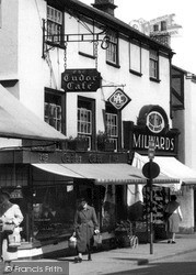 Newbury, The Tudor Cafe, Northbrook Street c.1960