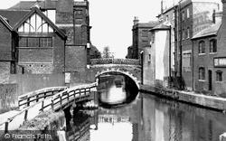 Newbury, Town Bridge Over River Kennet c.1955