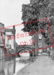Newbury, Water Bridge c.1910