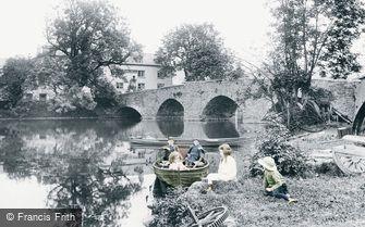 Newby Bridge, the Swan Hotel 1914