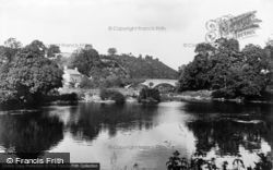 Cenarth Bridge c.1932, Newcastle Emlyn
