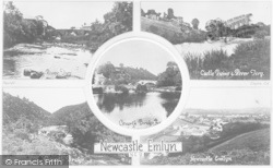 Newcastle Emlyn, Composite c.1930