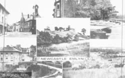 Newcastle Emlyn, Composite c.1955