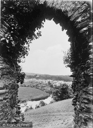 Newcastle Emlyn, From Castle Ruins 1932