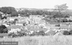 Newcastle Emlyn, General View c.1960