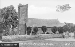 Newcastle Emlyn, Holy Trinity Church c.1960